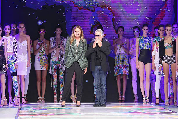Just Cavalli - Runway - Milan Fashion Week Womenswear Spring/Summer 2014:ニュース(壁紙.com)