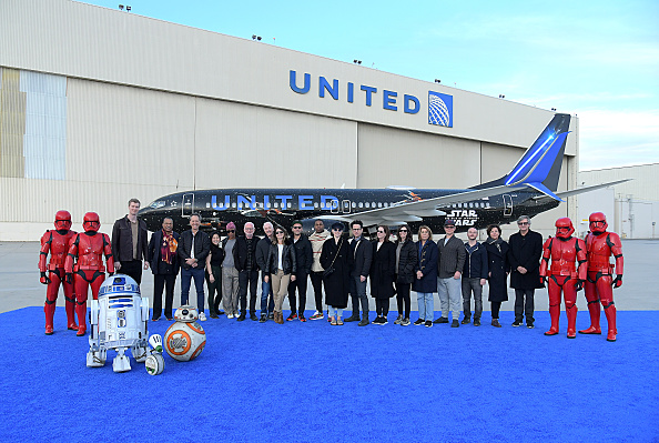 Decisions「launch of United Rise of Skywalker plane」:写真・画像(6)[壁紙.com]