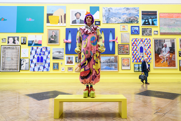Art Museum「Grayson Perry Previews The Great Spectacle: 250 Years of the Summer Exhibition」:写真・画像(16)[壁紙.com]