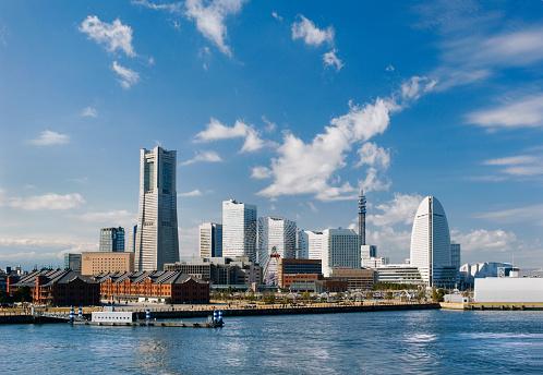 Kanagawa Prefecture「Japan, Yokohama, Minato Mirai harbor」:スマホ壁紙(8)