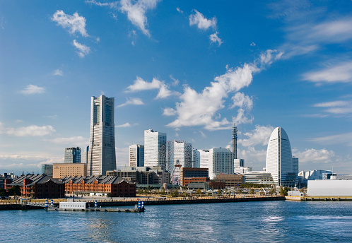 Yokohama「Japan, Yokohama, Minato Mirai harbor」:スマホ壁紙(10)