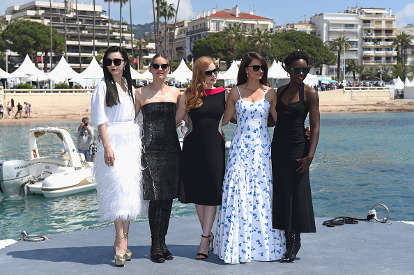"Cannes International Film Festival「""355"" Photocall - The 71st Annual Cannes Film Festival」:写真・画像(2)[壁紙.com]"