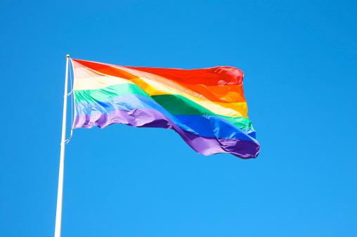 Equality「Rainbow flag at Harvey Milk Plaza, San Francisco, California」:スマホ壁紙(12)