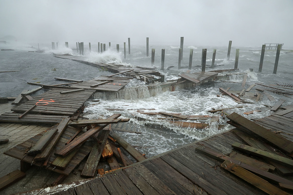 Hurricane - Storm「Carolinas Prepare As Hurricane Florence Approaches」:写真・画像(2)[壁紙.com]