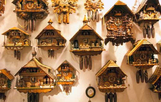 Munich「Wall display of cookoo clocks」:スマホ壁紙(11)