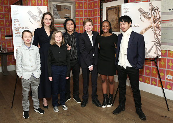 "Angelina Jolie「""The Boy Who Harnessed The Wind"" Special Screening, Hosted by Angelina Jolie」:写真・画像(5)[壁紙.com]"