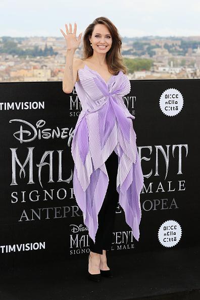 "Purple「""Maleficent – Mistress Of Evil"" Photocall」:写真・画像(11)[壁紙.com]"