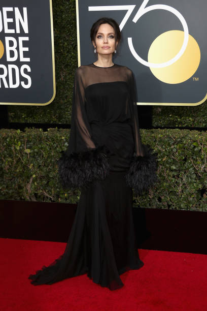 Angelina Jolie「75th Annual Golden Globe Awards - Arrivals」:写真・画像(16)[壁紙.com]