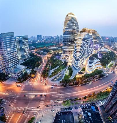 Beijing「Beijing's downtown district」:スマホ壁紙(11)