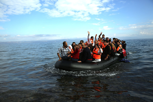 2015-2016 European Migrant Crisis「Greek Island Of Lesbos Continues To Recieve Migrants Fleeing Their Countries」:写真・画像(13)[壁紙.com]