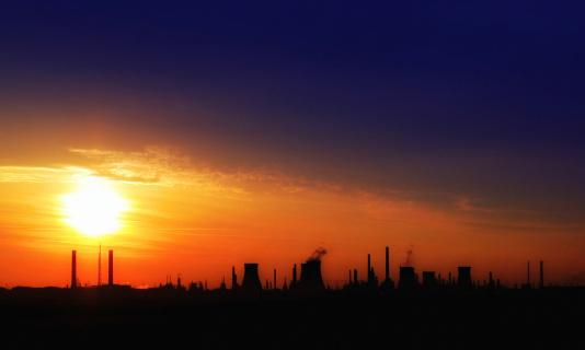 Generator「Pollution - gas refinery」:スマホ壁紙(16)