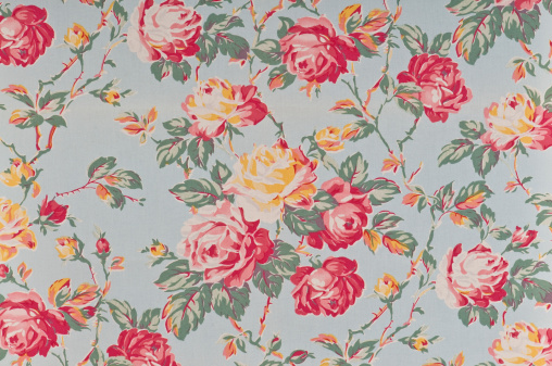 Floral Pattern「Francine Floral Medium Antique Fabric」:スマホ壁紙(6)