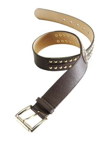 Belt「Leather belt on white background」:スマホ壁紙(4)