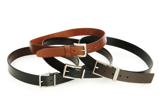 Belt「Leather belt isolated on the white background」:スマホ壁紙(1)