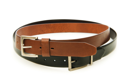 Belt「Leather belt isolated on the white background」:スマホ壁紙(2)