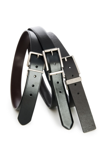 Belt「Leather belt isolated on the white background」:スマホ壁紙(0)