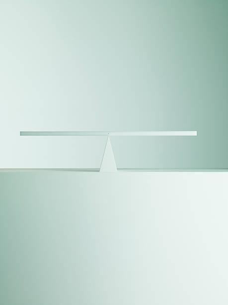 Balanced on opposite ends of seesaw:スマホ壁紙(壁紙.com)