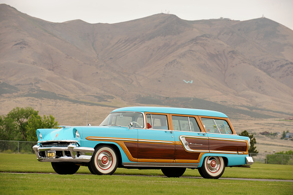 Vintage Car「Mercury Monterey station wagon 1955」:写真・画像(8)[壁紙.com]