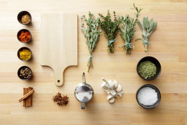 Seasoning: Herbs and Spices Still Life:スマホ壁紙(壁紙.com)