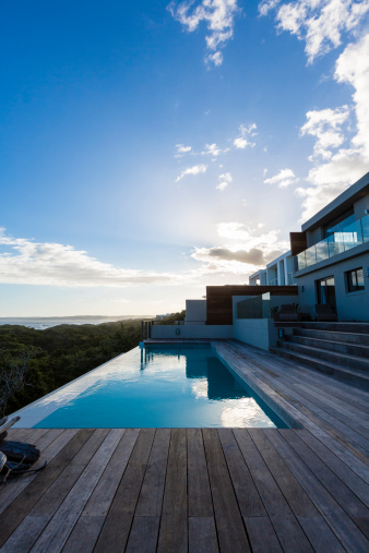 Infinity Pool「Luxury Villa Pool Deck」:スマホ壁紙(7)