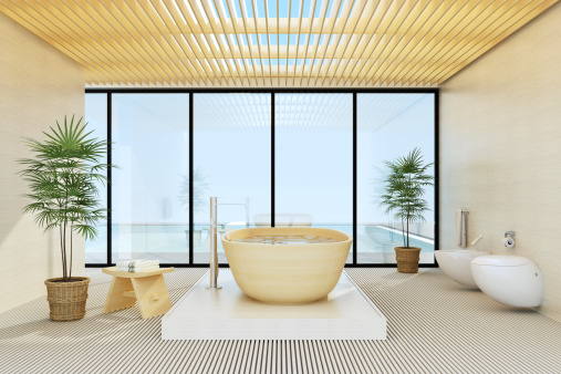 Health Spa「Luxury Villa Bathroom」:スマホ壁紙(11)