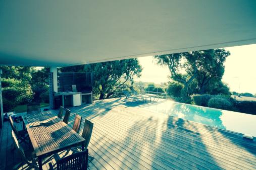 Chalet「Luxury Villa Exterios (toned image)」:スマホ壁紙(16)