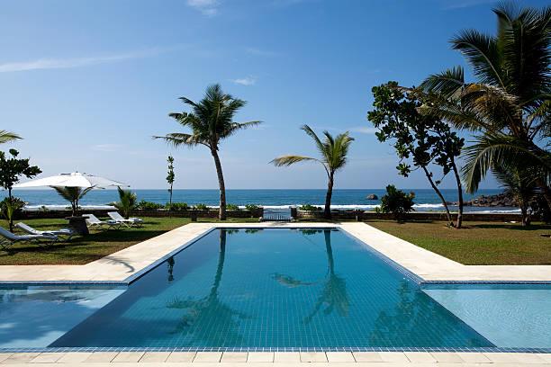 luxury villa swimming pool:スマホ壁紙(壁紙.com)