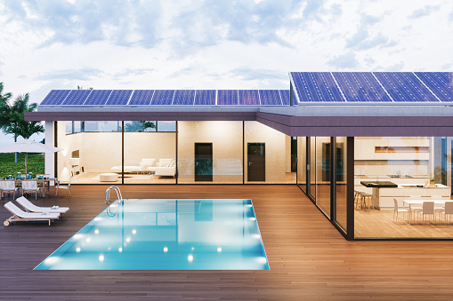Wealth「Luxury Villa With Solar Panels」:スマホ壁紙(18)