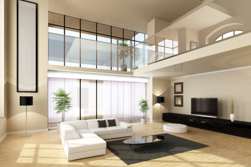 Villa「Luxury Villa Interior」:スマホ壁紙(3)