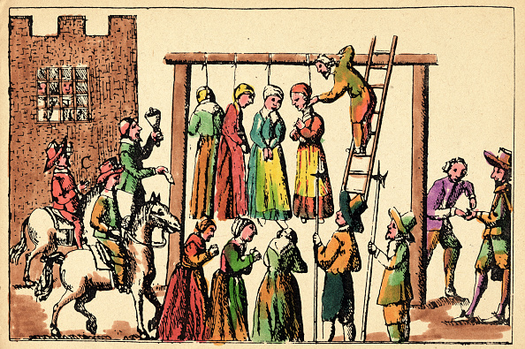 Hanging「The Hanging Of Four Witches」:写真・画像(11)[壁紙.com]