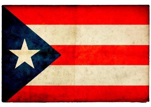 Patriotism「Grunge Puerto Rican on rough edged old postcard」:スマホ壁紙(13)