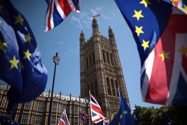 Stop Brexit Supporters Rally Ahead Of Parliament Voting On Lords' Amendments:ニュース(壁紙.com)