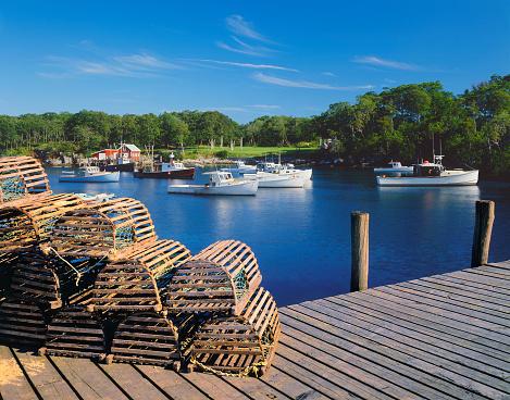 Fishing Village「Maine Fishing Village」:スマホ壁紙(18)