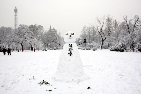 雪だるま「Italy Hit By Cold Spell」:写真・画像(12)[壁紙.com]