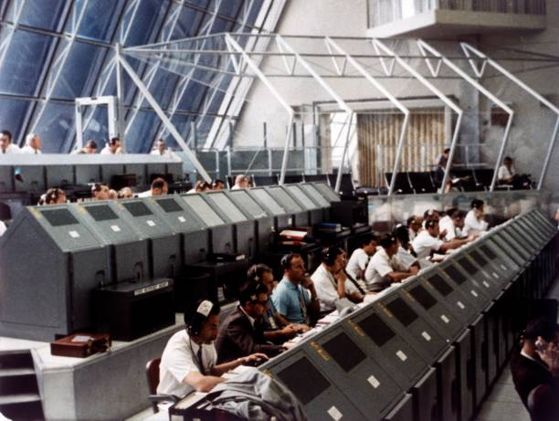 Launch Control Center In The John F Kennedy Space Center:ニュース(壁紙.com)