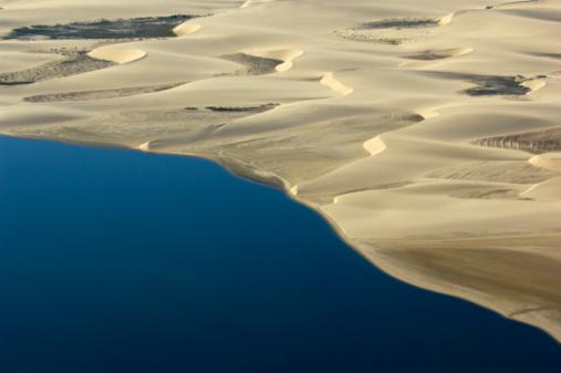 Namibia「Atlantic ocean meet the namib dunes」:スマホ壁紙(12)