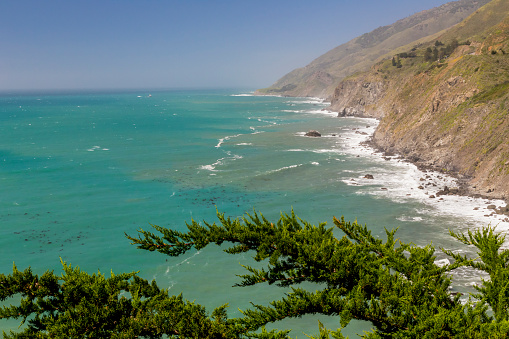 Ragged Point「Ragged Point landscape, Big Sur, California, USA」:スマホ壁紙(2)