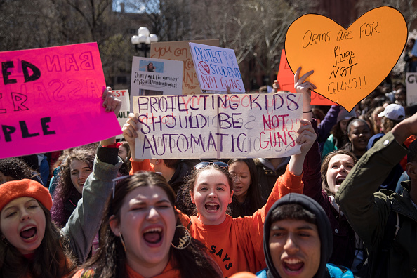 Gun Violence Protest「Students Across The Country Organize Walkouts In Protest Over Gun Violence」:写真・画像(11)[壁紙.com]