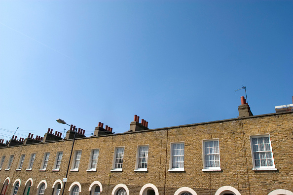 Copy Space「Terraced houses」:写真・画像(19)[壁紙.com]