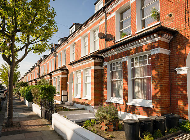 Terraced Houses in South London:スマホ壁紙(壁紙.com)