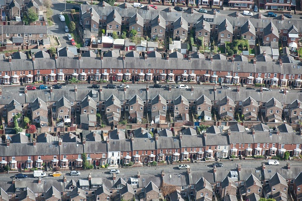 Yorkshire - England「Terraced Housing」:写真・画像(8)[壁紙.com]