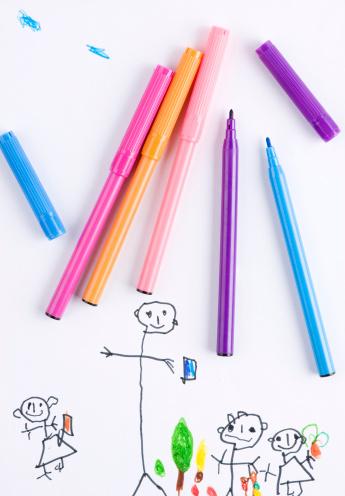 幸福「子供の絵」:スマホ壁紙(6)