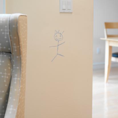 Light Switch「Child's Drawing on Wall」:スマホ壁紙(15)