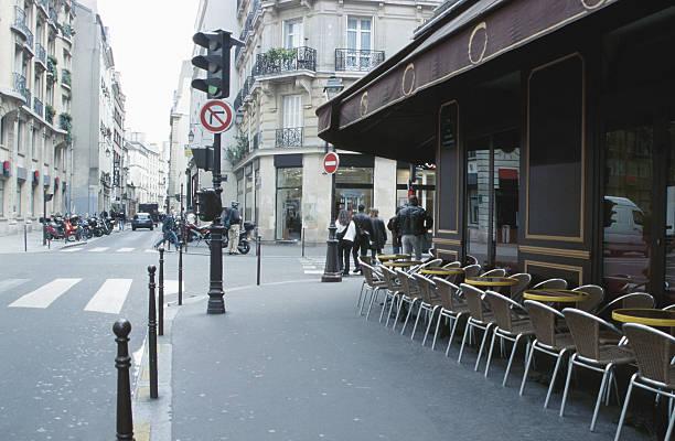 Paris street scene:スマホ壁紙(壁紙.com)