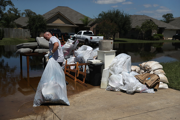 Damaged「Houston Area Begins Slow Recovery From Catastrophic Harvey Storm Damage」:写真・画像(7)[壁紙.com]