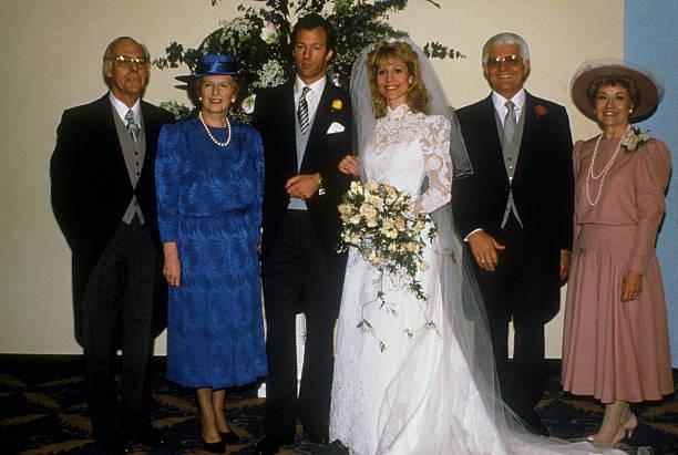 Thatchers At Son's Wedding:ニュース(壁紙.com)
