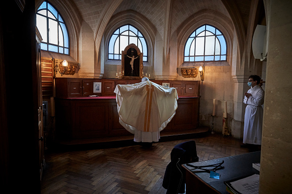 Kiran Ridley「Places Of Religious Worship Reopen As Covid-19 Lockdown Eased」:写真・画像(9)[壁紙.com]