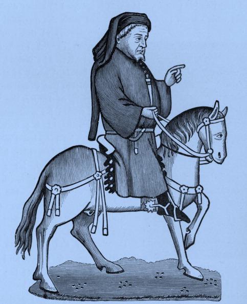 Circa 14th Century「Geoffrey Chaucer - Portrait」:写真・画像(10)[壁紙.com]