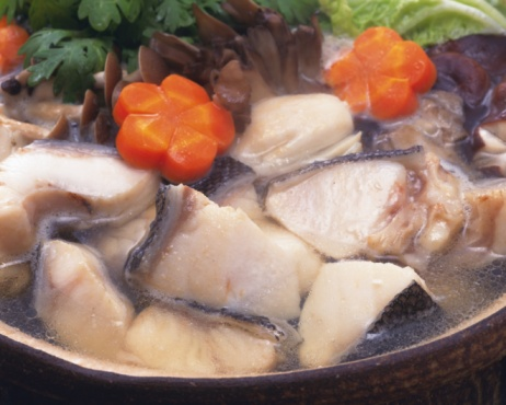 Pollock - Fish「Vegetable and cods in pot, high angle view, close up」:スマホ壁紙(18)