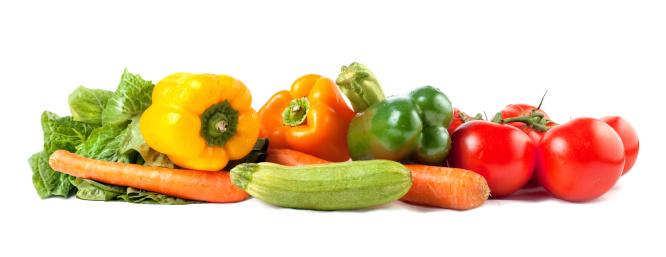 沢山の物「野菜の配列」:スマホ壁紙(2)